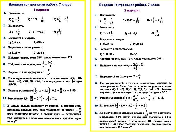 Книга, алгебра и начала математического анализа