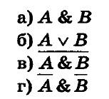 Информатика 8 Глава 1. Ответы на тест