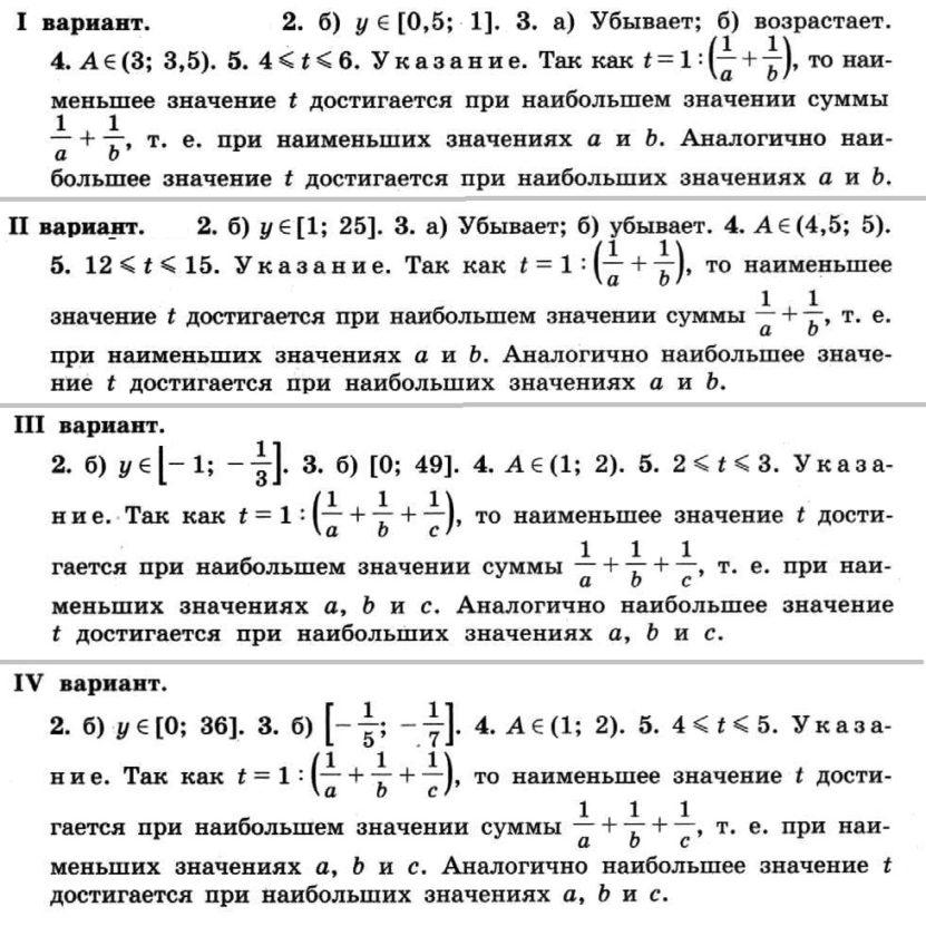 Никольский. Контрольные работы по алгебре в 8 классе. Автор - Потапов. КР-01