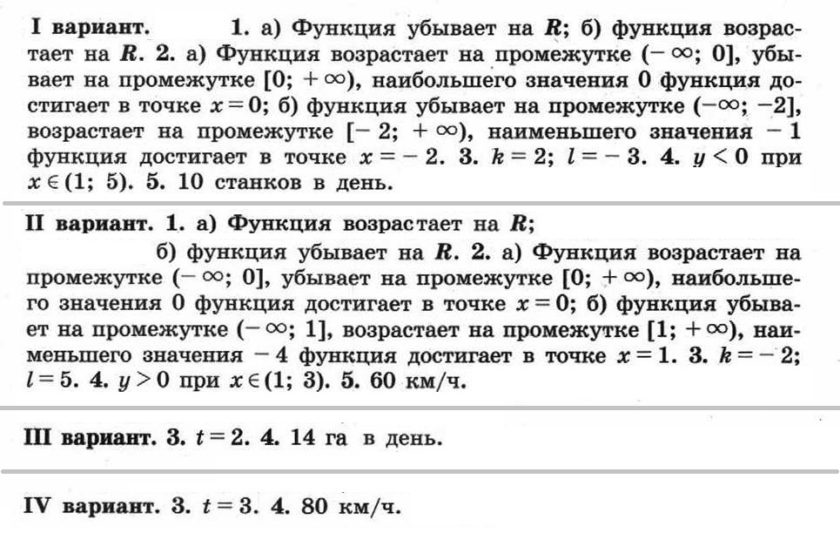 Никольский. Контрольные работы по алгебре в 8 классе. Автор - Потапов. КР-05