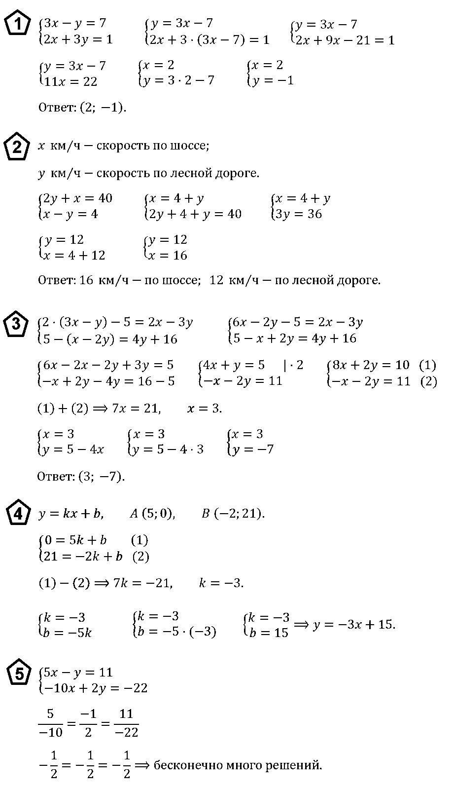 Алгебра 7 Макарычев КР-9 В2