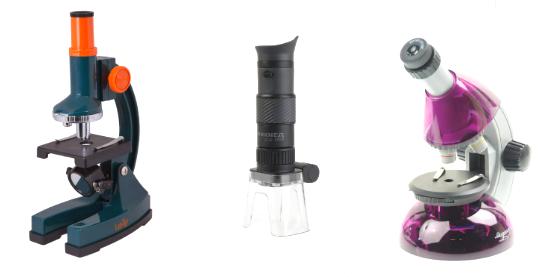 Микроскопы: виды
